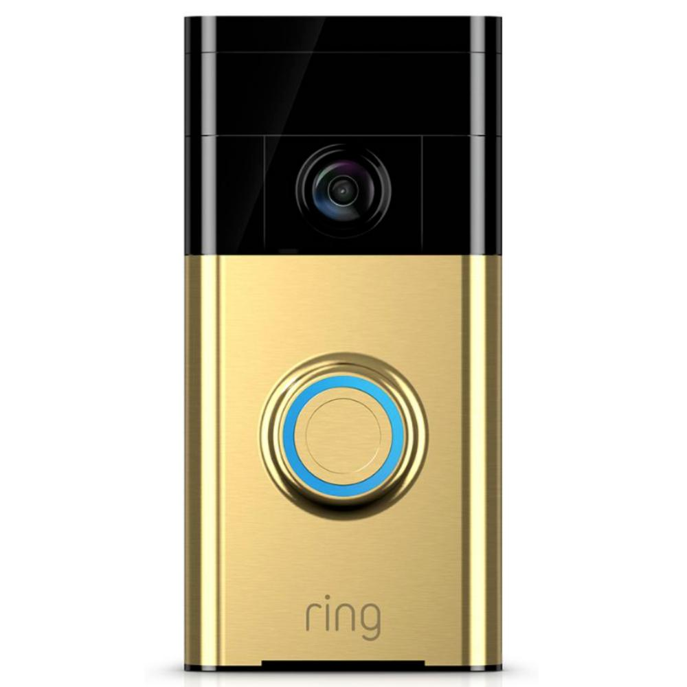 Deurbel met camera - Ring - Polished Brass - Messing